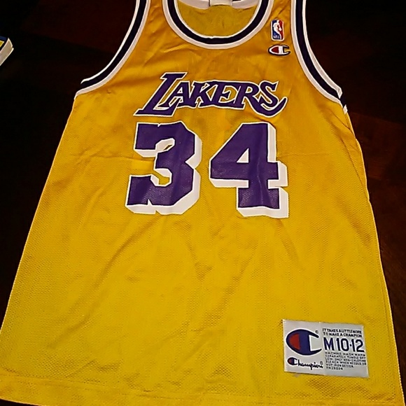 Champion Other - Kid s NBA Los Angeles Lakers  34 Jersey 7b4c9ddce